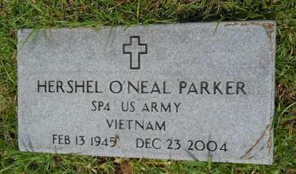 PARKER (VETERAN VIET), HERSHEL O'NEAL - Calhoun County, Arkansas | HERSHEL O'NEAL PARKER (VETERAN VIET) - Arkansas Gravestone Photos