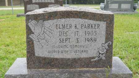 PARKER (VETERAN WWII), ELMER K - Calhoun County, Arkansas | ELMER K PARKER (VETERAN WWII) - Arkansas Gravestone Photos