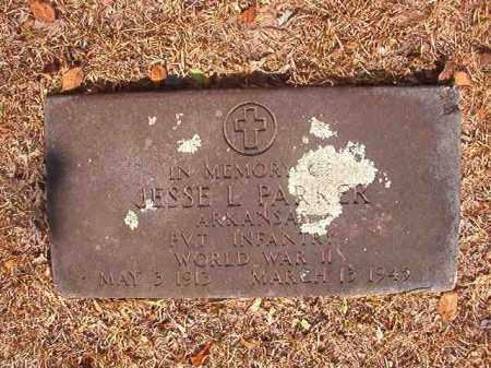 PARKER (VETERAN WWII), JESSE L - Calhoun County, Arkansas | JESSE L PARKER (VETERAN WWII) - Arkansas Gravestone Photos