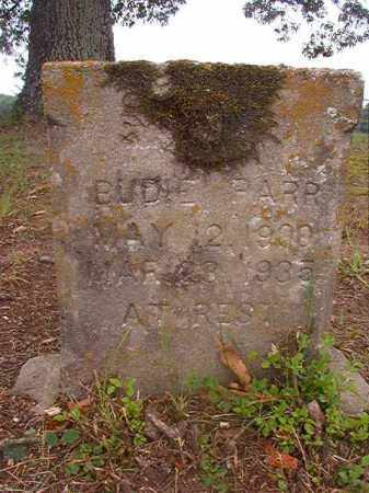 PARR, BUDIE - Calhoun County, Arkansas | BUDIE PARR - Arkansas Gravestone Photos