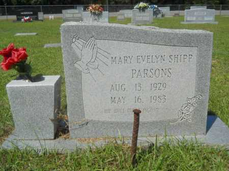 PARSONS, MARY EVELYN - Calhoun County, Arkansas | MARY EVELYN PARSONS - Arkansas Gravestone Photos