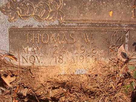 PATE, THOMAS W - Calhoun County, Arkansas | THOMAS W PATE - Arkansas Gravestone Photos