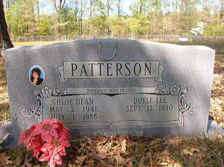 PATTERSON, CHLOE DEAN - Calhoun County, Arkansas | CHLOE DEAN PATTERSON - Arkansas Gravestone Photos