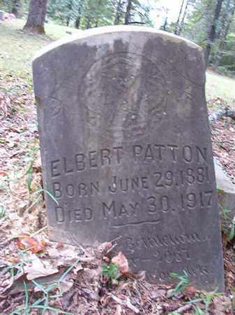 PATTON, ELBERT - Calhoun County, Arkansas | ELBERT PATTON - Arkansas Gravestone Photos