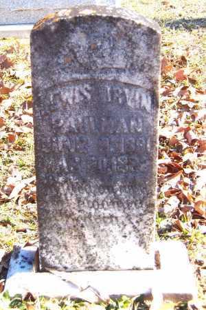 PAULMAN, LEWIS IRVIN - Calhoun County, Arkansas | LEWIS IRVIN PAULMAN - Arkansas Gravestone Photos