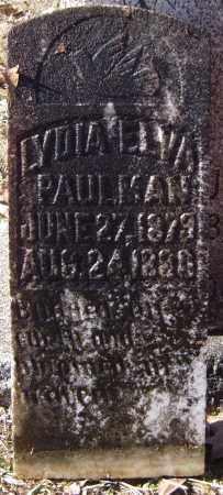 PAULMAN, LYDIA ELVA - Calhoun County, Arkansas | LYDIA ELVA PAULMAN - Arkansas Gravestone Photos