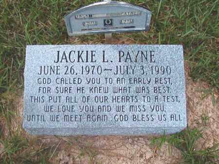 PAYNE, JACKIE L - Calhoun County, Arkansas | JACKIE L PAYNE - Arkansas Gravestone Photos