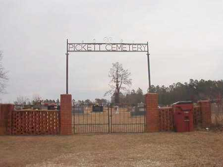 *PICKETT CEMETERY,  - Calhoun County, Arkansas |  *PICKETT CEMETERY - Arkansas Gravestone Photos