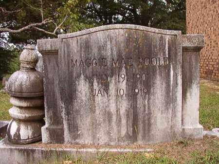 POOLE, MAGGIE MAE - Calhoun County, Arkansas | MAGGIE MAE POOLE - Arkansas Gravestone Photos
