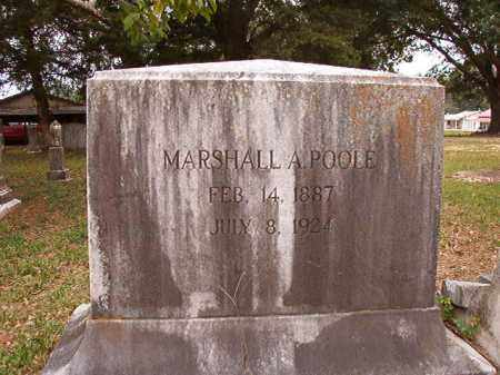 POOLE, MARSHALL A - Calhoun County, Arkansas | MARSHALL A POOLE - Arkansas Gravestone Photos