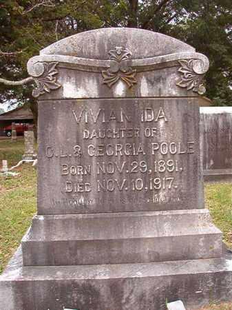 POOLE, VIVIAN IDA - Calhoun County, Arkansas   VIVIAN IDA POOLE - Arkansas Gravestone Photos