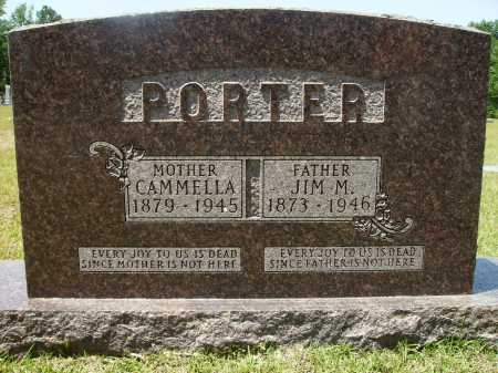 PORTER, JIM M - Calhoun County, Arkansas | JIM M PORTER - Arkansas Gravestone Photos