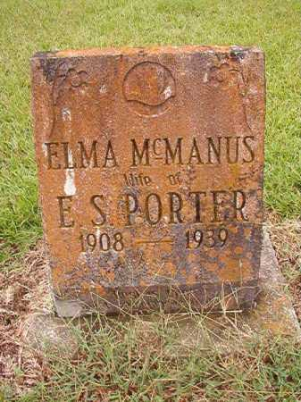PORTER, ELMA - Calhoun County, Arkansas | ELMA PORTER - Arkansas Gravestone Photos