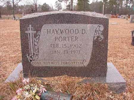 PORTER, HAYWOOD D - Calhoun County, Arkansas | HAYWOOD D PORTER - Arkansas Gravestone Photos