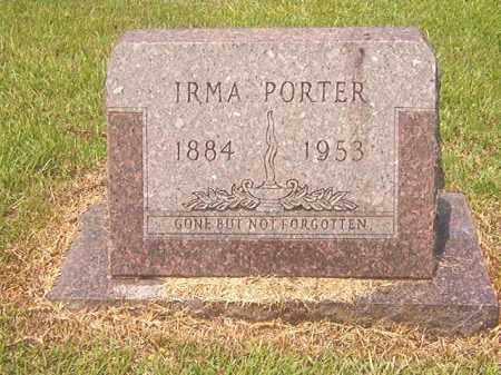PORTER, IRMA - Calhoun County, Arkansas | IRMA PORTER - Arkansas Gravestone Photos