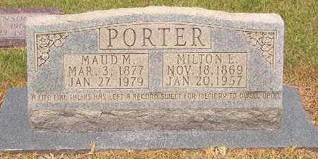PORTER, MAUD MARTHA - Calhoun County, Arkansas | MAUD MARTHA PORTER - Arkansas Gravestone Photos