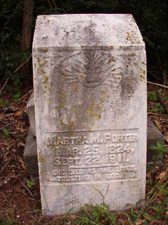 PORTER, MARTHA M - Calhoun County, Arkansas | MARTHA M PORTER - Arkansas Gravestone Photos