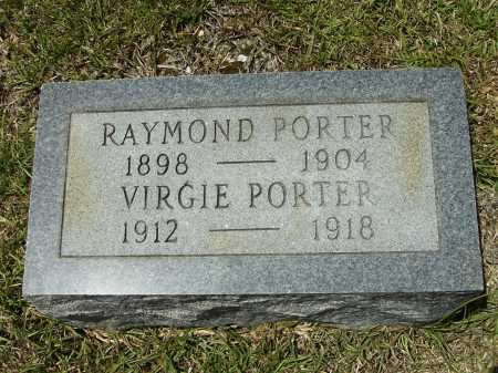 PORTER, VIRGIE - Calhoun County, Arkansas | VIRGIE PORTER - Arkansas Gravestone Photos