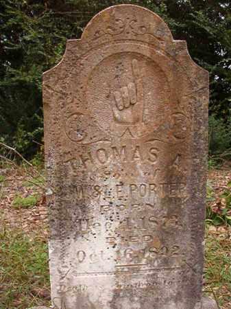 PORTER, THOMAS A - Calhoun County, Arkansas | THOMAS A PORTER - Arkansas Gravestone Photos