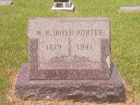 PORTER, WOODIE E (BOSS) - Calhoun County, Arkansas | WOODIE E (BOSS) PORTER - Arkansas Gravestone Photos