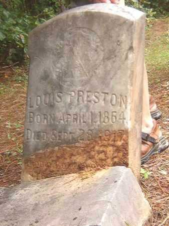 PRESTON, LOUIS - Calhoun County, Arkansas | LOUIS PRESTON - Arkansas Gravestone Photos