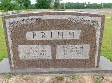 PRIMM, VERSIA M - Calhoun County, Arkansas | VERSIA M PRIMM - Arkansas Gravestone Photos