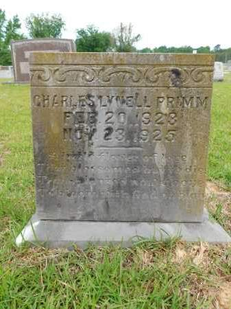 PRIMM, CHARLES LYNELL - Calhoun County, Arkansas | CHARLES LYNELL PRIMM - Arkansas Gravestone Photos