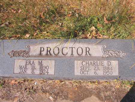 PROCTOR, ERA M - Calhoun County, Arkansas | ERA M PROCTOR - Arkansas Gravestone Photos