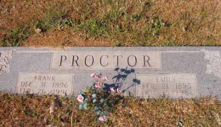 PROCTOR, EMILY - Calhoun County, Arkansas | EMILY PROCTOR - Arkansas Gravestone Photos