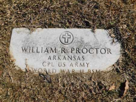 PROCTOR (VETERAN), WILLIAM R - Calhoun County, Arkansas | WILLIAM R PROCTOR (VETERAN) - Arkansas Gravestone Photos
