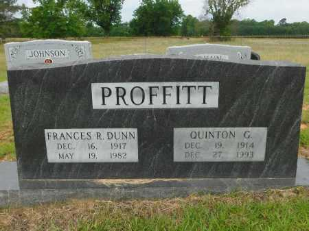 PROFFITT, QUINTON G - Calhoun County, Arkansas | QUINTON G PROFFITT - Arkansas Gravestone Photos