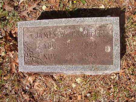 PROFFITT, JAMES W - Calhoun County, Arkansas | JAMES W PROFFITT - Arkansas Gravestone Photos