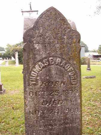 RADFORD, THOMAS E - Calhoun County, Arkansas | THOMAS E RADFORD - Arkansas Gravestone Photos