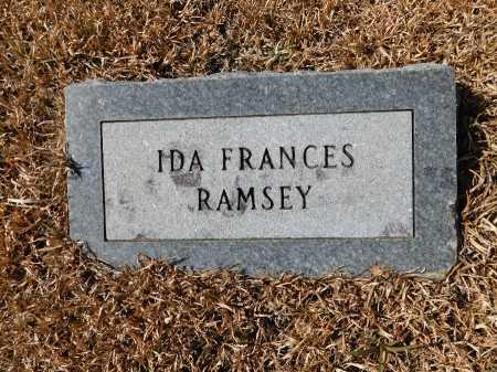 RAMSEY, IDA FRANCES - Calhoun County, Arkansas | IDA FRANCES RAMSEY - Arkansas Gravestone Photos