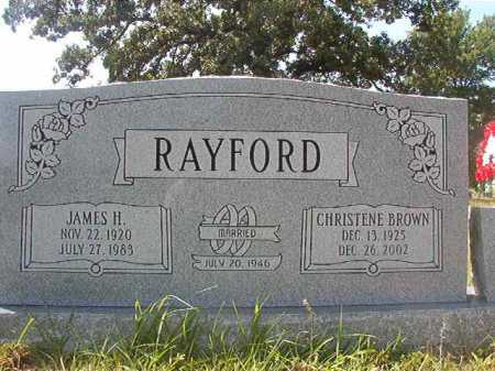 RAYFORD, JAMES H - Calhoun County, Arkansas | JAMES H RAYFORD - Arkansas Gravestone Photos