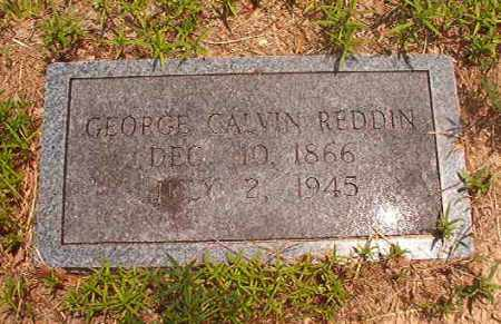 REDDIN, GEORGE CALVIN - Calhoun County, Arkansas | GEORGE CALVIN REDDIN - Arkansas Gravestone Photos