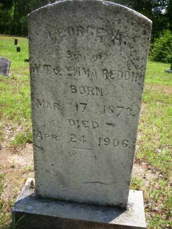 REDDIN, GEORGE A - Calhoun County, Arkansas | GEORGE A REDDIN - Arkansas Gravestone Photos