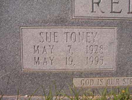 TONEY REDDIN, SUE - Calhoun County, Arkansas | SUE TONEY REDDIN - Arkansas Gravestone Photos
