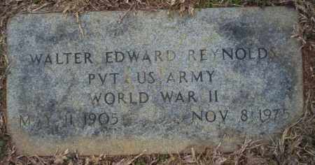 REYNOLDS  (VETERAN WWII), WALTER EDWARD - Calhoun County, Arkansas | WALTER EDWARD REYNOLDS  (VETERAN WWII) - Arkansas Gravestone Photos