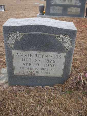 REYNOLDS, ANNIE - Calhoun County, Arkansas | ANNIE REYNOLDS - Arkansas Gravestone Photos