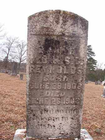 REYNOLDS, INFANT DAUGHTER - Calhoun County, Arkansas | INFANT DAUGHTER REYNOLDS - Arkansas Gravestone Photos