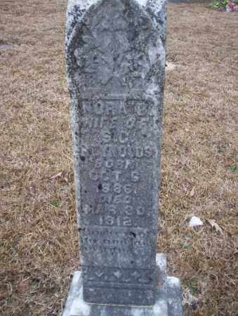 REYNOLDS, NORA B - Calhoun County, Arkansas | NORA B REYNOLDS - Arkansas Gravestone Photos