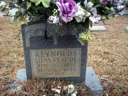REYNOLDS, SILAS CLAUDE - Calhoun County, Arkansas | SILAS CLAUDE REYNOLDS - Arkansas Gravestone Photos