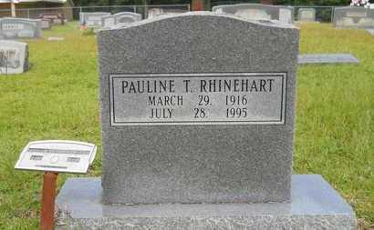RHINEHART, PAULINE T - Calhoun County, Arkansas | PAULINE T RHINEHART - Arkansas Gravestone Photos