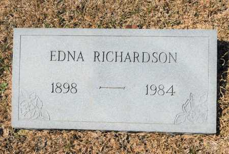RICHARDSON, EDNA - Calhoun County, Arkansas | EDNA RICHARDSON - Arkansas Gravestone Photos