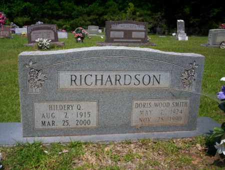 RICHARDSON, HILDERY Q - Calhoun County, Arkansas | HILDERY Q RICHARDSON - Arkansas Gravestone Photos