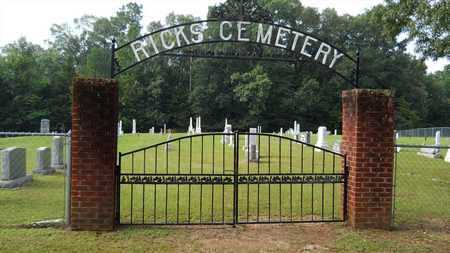 *RICKS, CEMETERY - Calhoun County, Arkansas | CEMETERY *RICKS - Arkansas Gravestone Photos