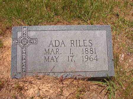 RILES, ADA - Calhoun County, Arkansas | ADA RILES - Arkansas Gravestone Photos