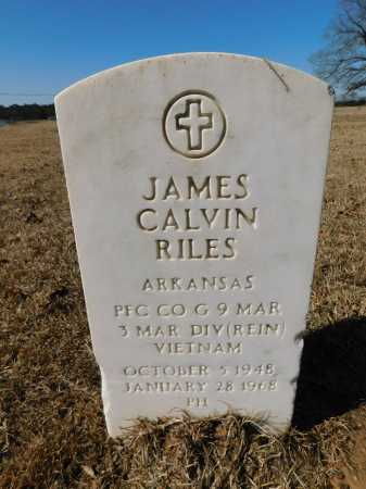 RILES (VETERAN VIET), JAMES CALVIN - Calhoun County, Arkansas | JAMES CALVIN RILES (VETERAN VIET) - Arkansas Gravestone Photos
