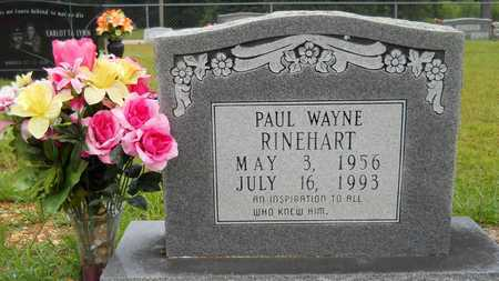 RINEHART, PAUL WAYNE - Calhoun County, Arkansas | PAUL WAYNE RINEHART - Arkansas Gravestone Photos